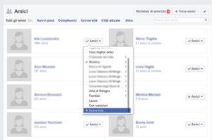 Bloccare utenti e pagine